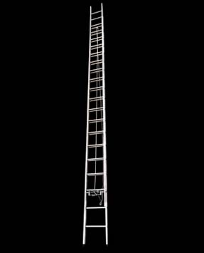 ALUMINIUM WALL RECLINING EXTENSION LADDER